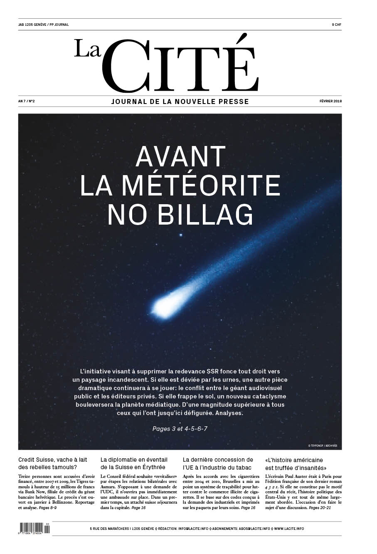 FÉVRIER 2018 - Édition n° 9224 pages