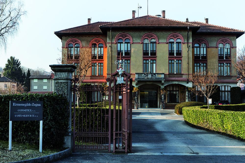 Consitex, usine du groupe Zegna, est la seule au Tessin à exploiter des ateliers de production. © Alberto Campi / 17 décembre 2015