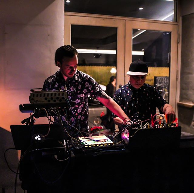 #live @bodega_noerrebro #photo by @silvestraval #canon700d #idm #electro #electronica #techno #modularsynth #eurorack @original_colorcowboy @elemen_music #release #vinyl #lp #record #nørrebro #københavn #cph #copenhagen