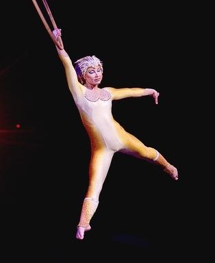 Lyra performance in Cirque du Soleil's  Varekai