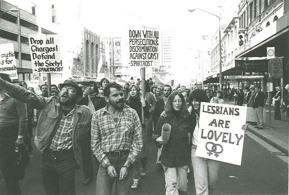 In 1978, The Sydney Gay and Lesbian Mardi Gras started out as a protest against persecution.