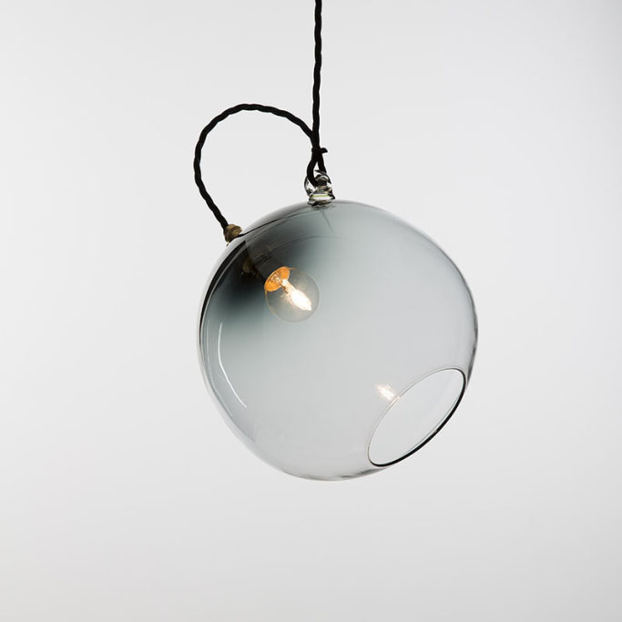 "Featured Monmouth Glass Studio ""Tilt Pendant"""