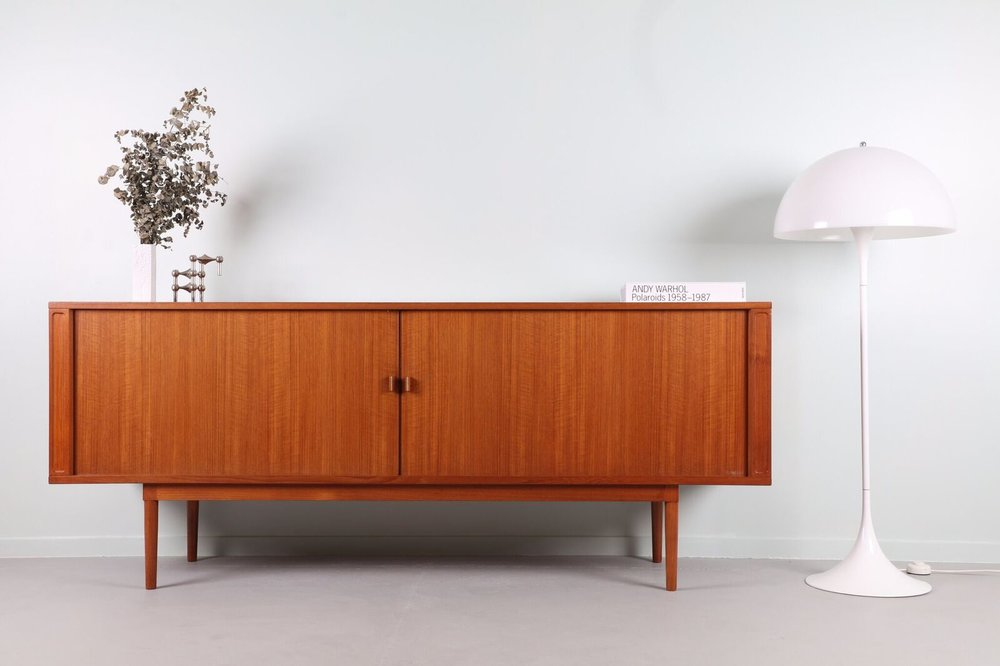 Featured: Peter Lovig Teak Tambour Sideboard