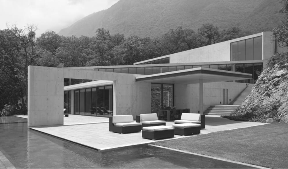 Tadao Ando: House in Monterrey, Monterrey, Mexico, 2011.