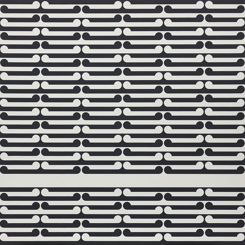 Gordon Walters Untitled stripes 1972 Dunedin Public Art Gallery Loan Collection Courtesy of the Walters Estate