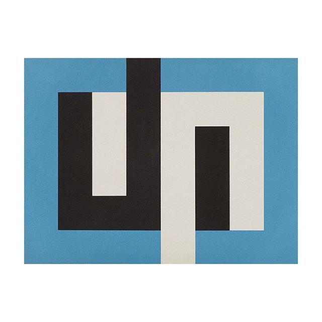 Gordon Walters: New Vision Presented by Auckland Art Gallery _ Gordon Walters Painting J 1974 Museum of New Zealand Te Papa Tongarewa Courtesy of the Walters Estate _ #gordonwalters #newvision #aucklandartgallery #nzart #newzealandart #modernism #abstractart #abstraction #koru