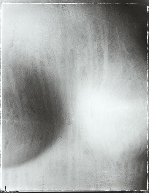 Fiona Pardington, 'Tears', 1994. Selenium print, 540 x 420mm.
