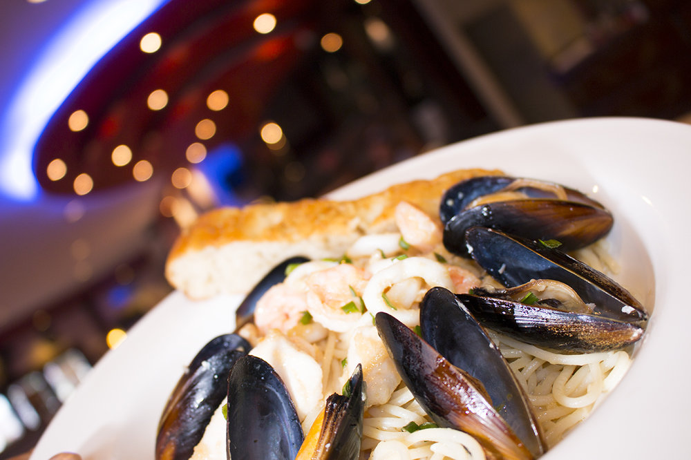Blue Mussel Seafood Pasta