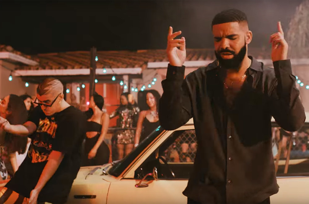 3. Champagne Papi, aaall the way, all night.