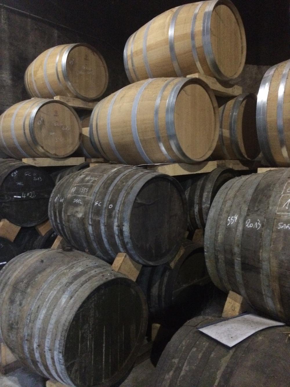 Pierre Ferrand Barrels Dry Cellar3.jpg