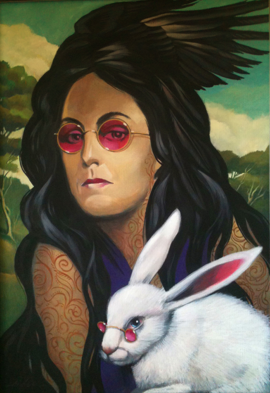 white rabbit - grace slick