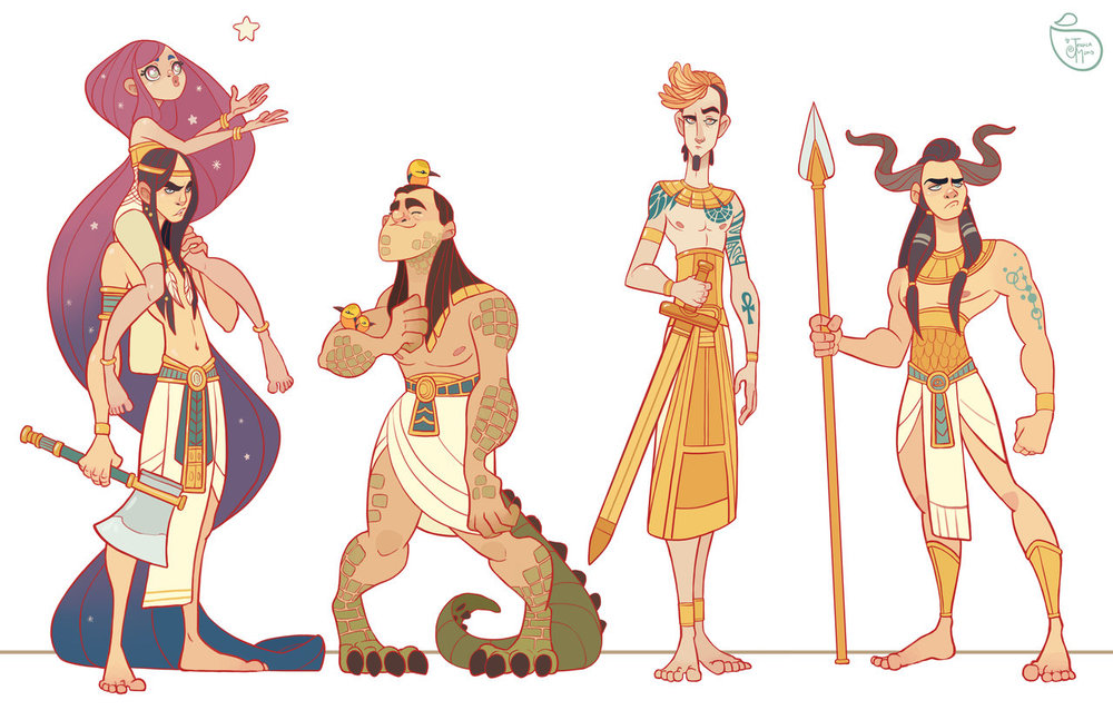 character_design__egyptian_gods_by_meomai-d9dm53g.jpg