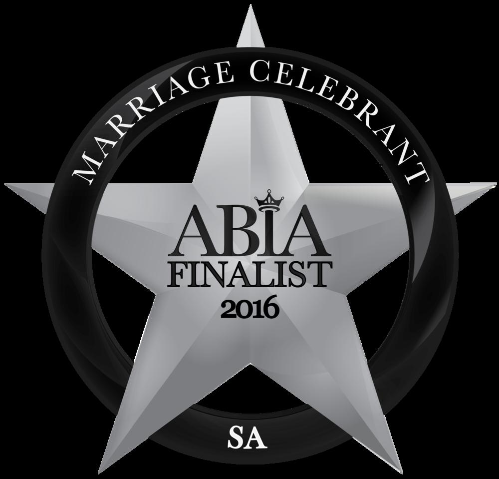 Celebrant Camille Abbott 2016 ABIA Finalist