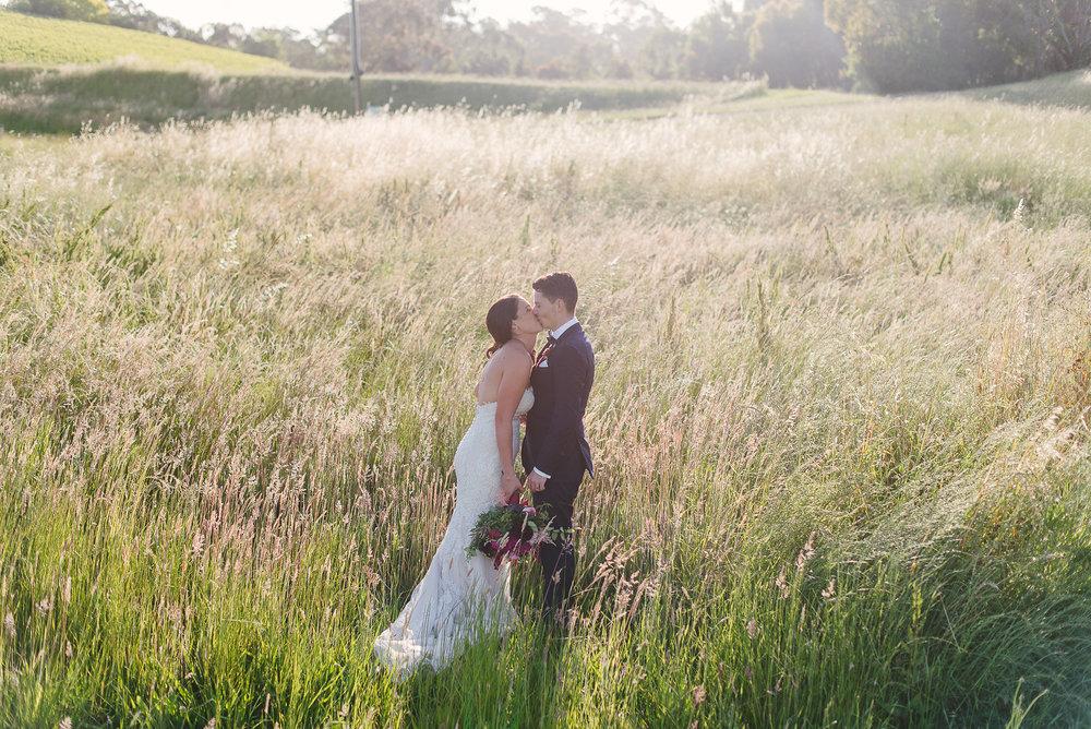 Maddie & Matt Golding Wines wedding