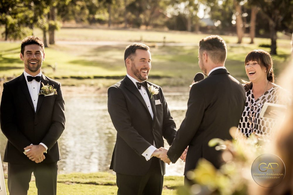 Chad and Gavin's Serafino wedding