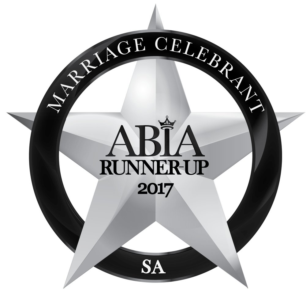Camille Abbott Marriage Celebrant 2017 Runner up ABIA Awards