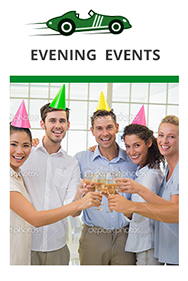Plan a event, a party a celebration, or even a corporate evening event