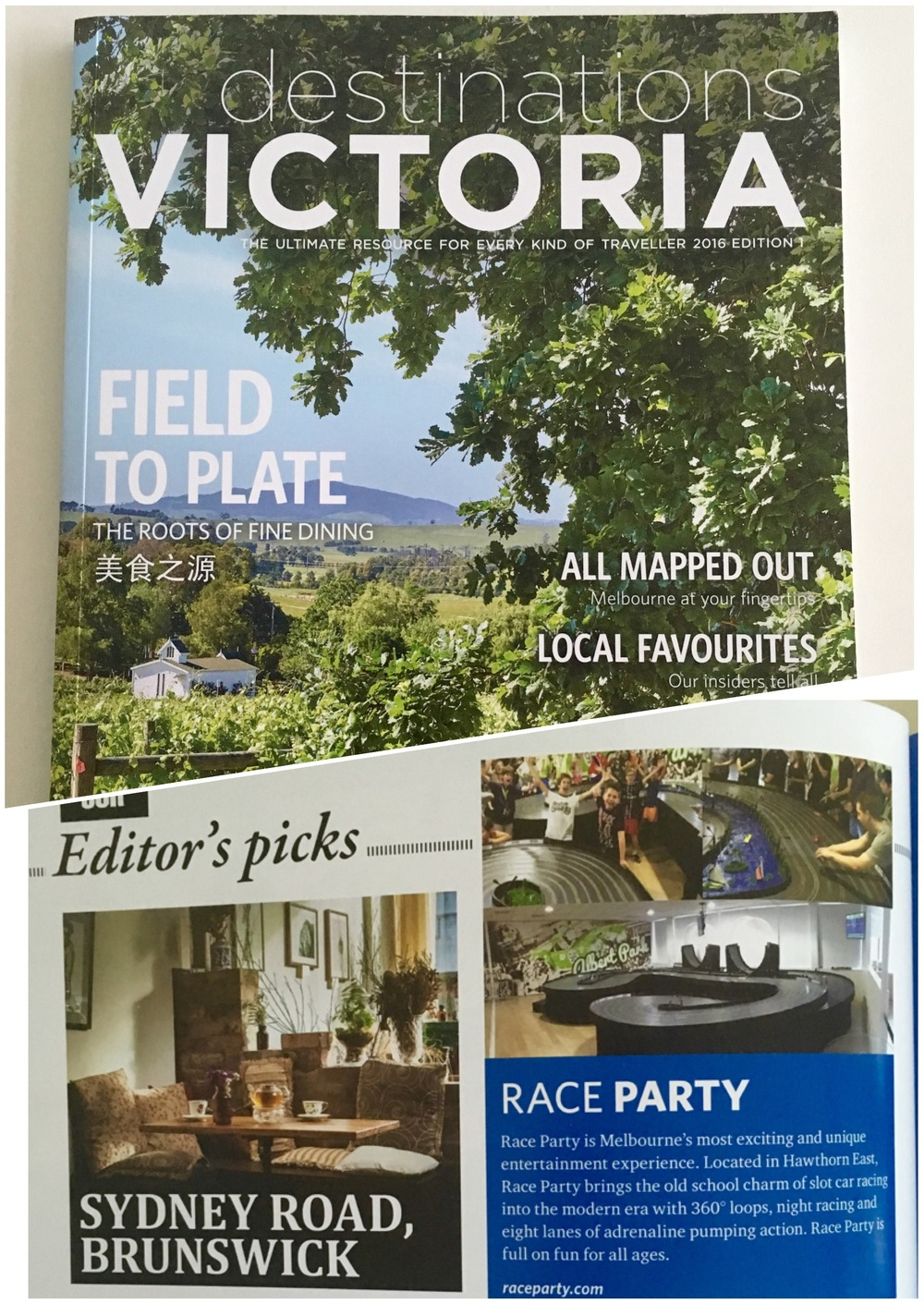 Destinations Victoria RaceParty