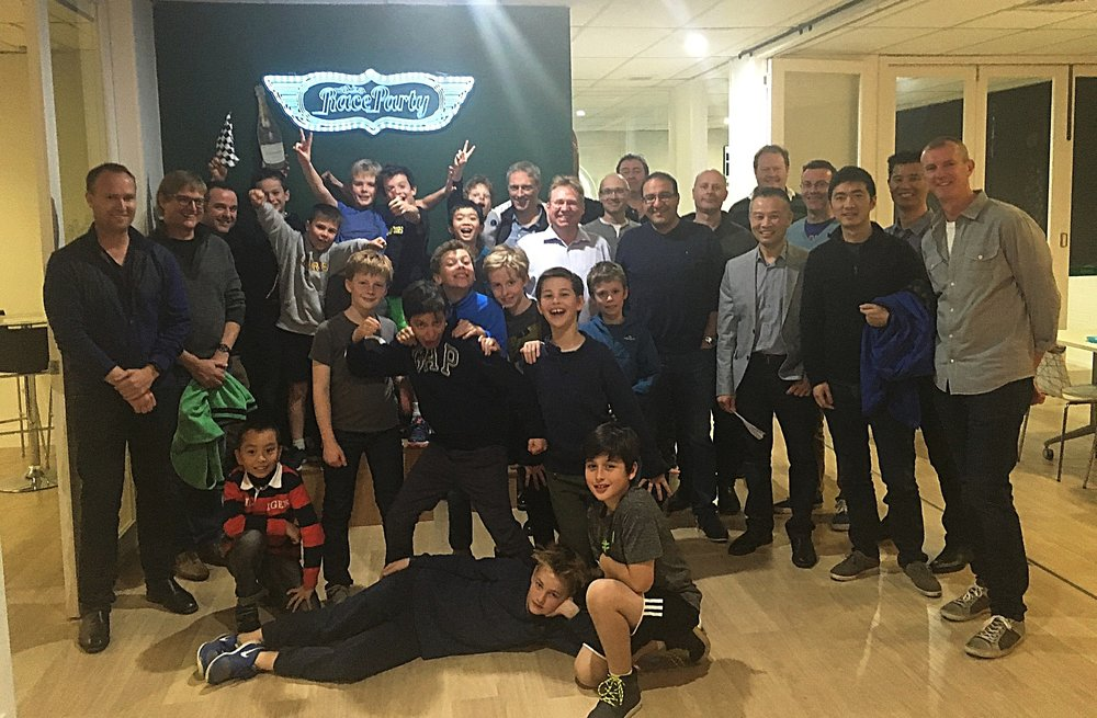 August 2016 Father-Son event at Raceparty