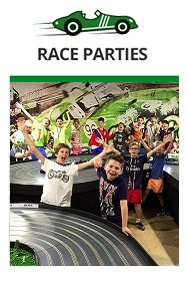Race Parties for a birthday or special occasion. Children's birthday parties are easy here