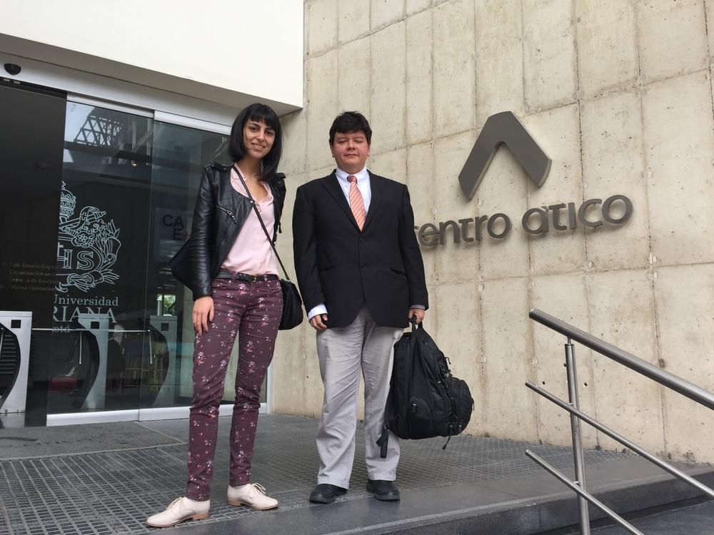 Óscar Lozano y Laura