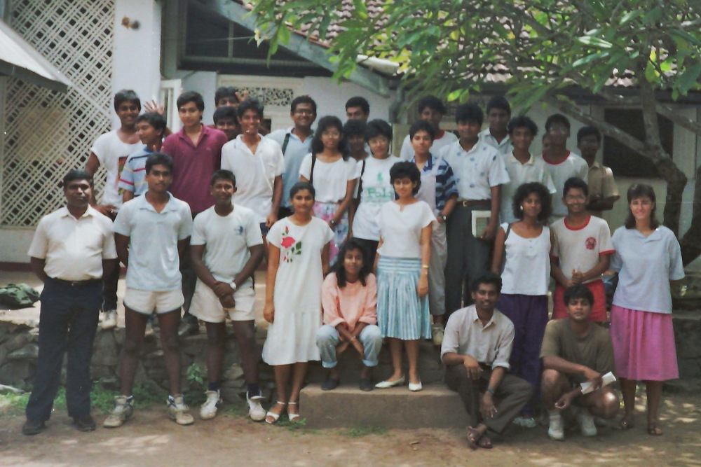 Teaching in Sri Lanka