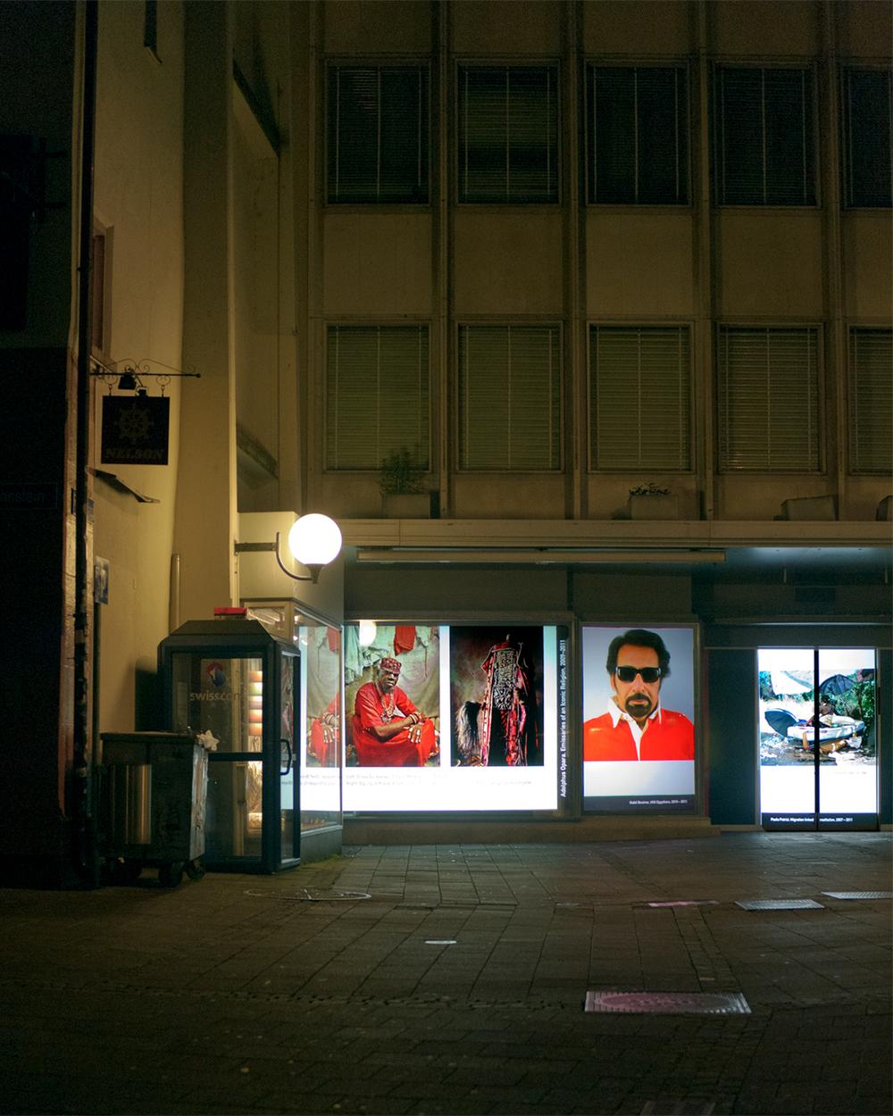 Vue de l'exposition en juin 2012, Bâle, Suisse