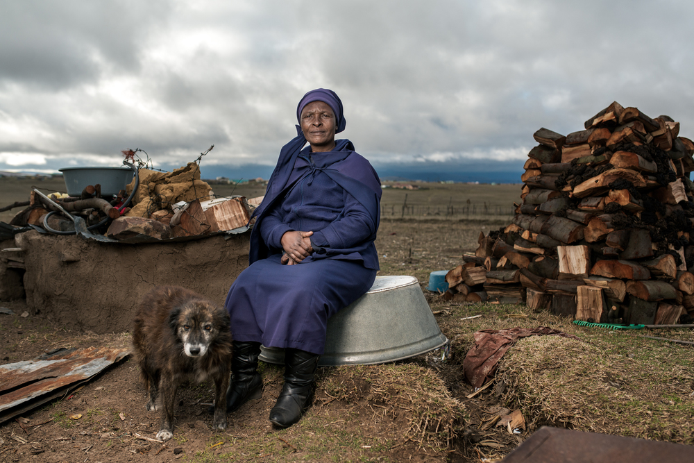 Nosipho Eunice Dala - The widow of Zwelakhe Dala who worked in the gold mines for 28 years and developed silicosis. He received no compensation.