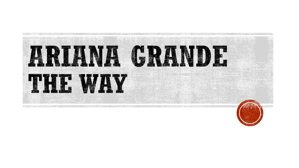 Ariana Grande The Way.jpg