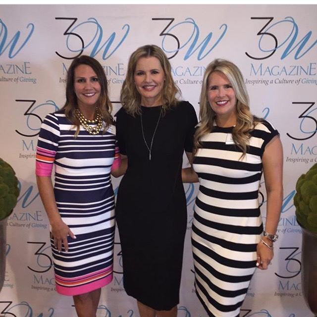 We hosted Geena Davis (our new BFF for obvious reasons) at our annual Women With a Mission Ladies Luncheon.