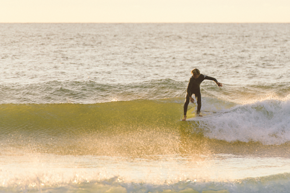 Surfer, Cold Hawaii, Denmark