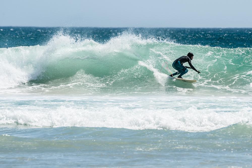 Surfer, Llandudno Beach, South Africa