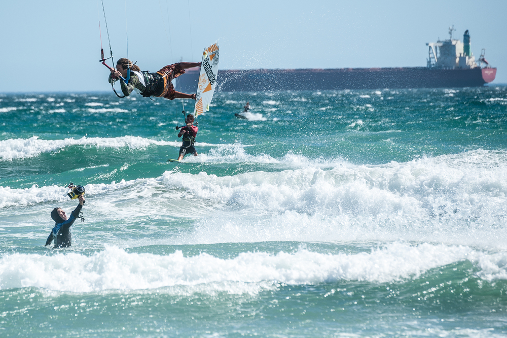 Kite Surfer, Table View, South Africa