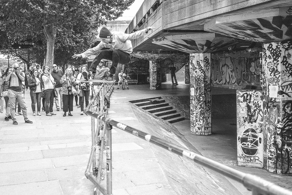 Skate or Die, South Bank London