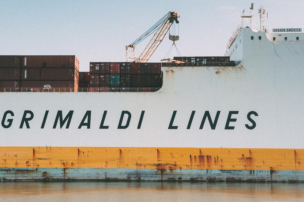 Container Vessel, Hamburg