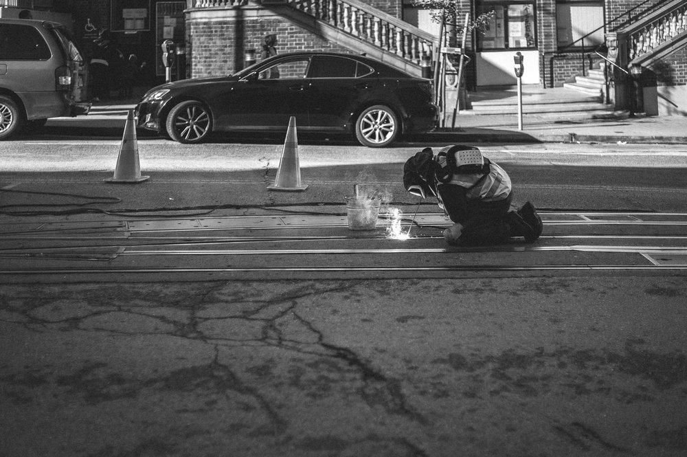 Street Worker, San Francisco