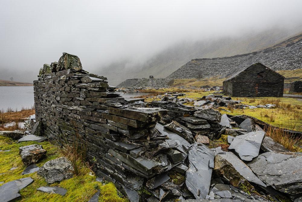 Snowdonia, Slate Mine, Wales