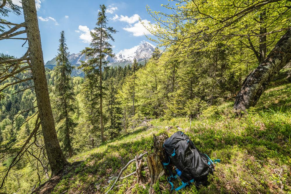Hiking Gruenstein, Bavaria