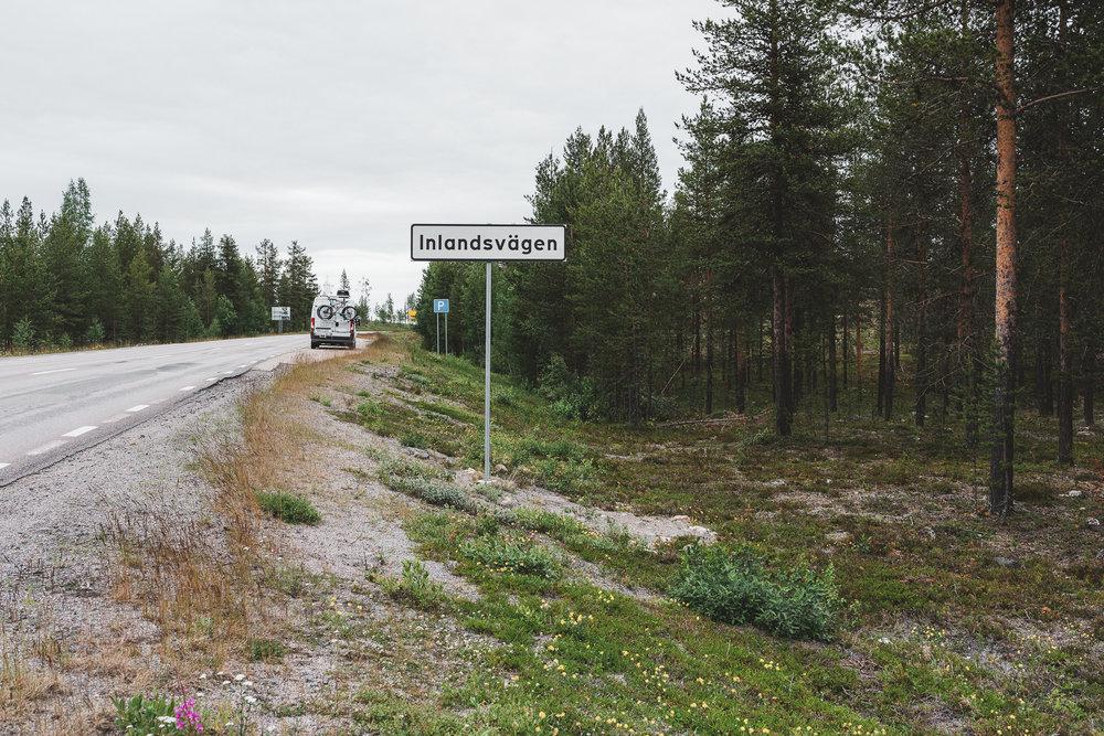 Inlandsvägen, Sweden