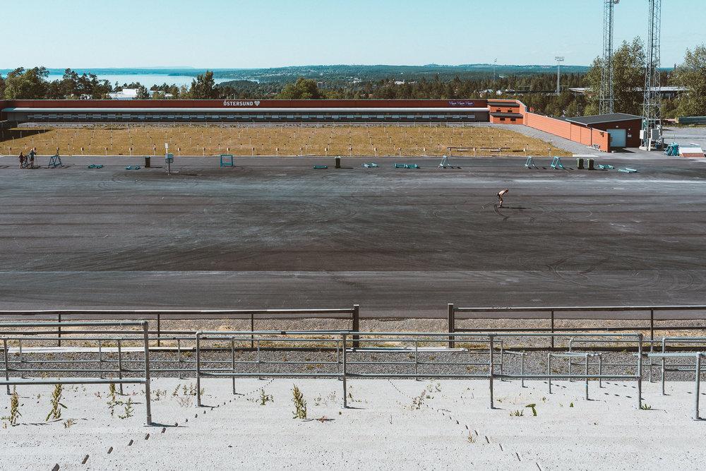 Biathlon Stadium, Oestersund, Sweden