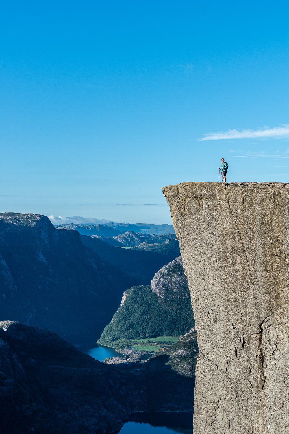 Gesche, Pulpit Rock , Norway
