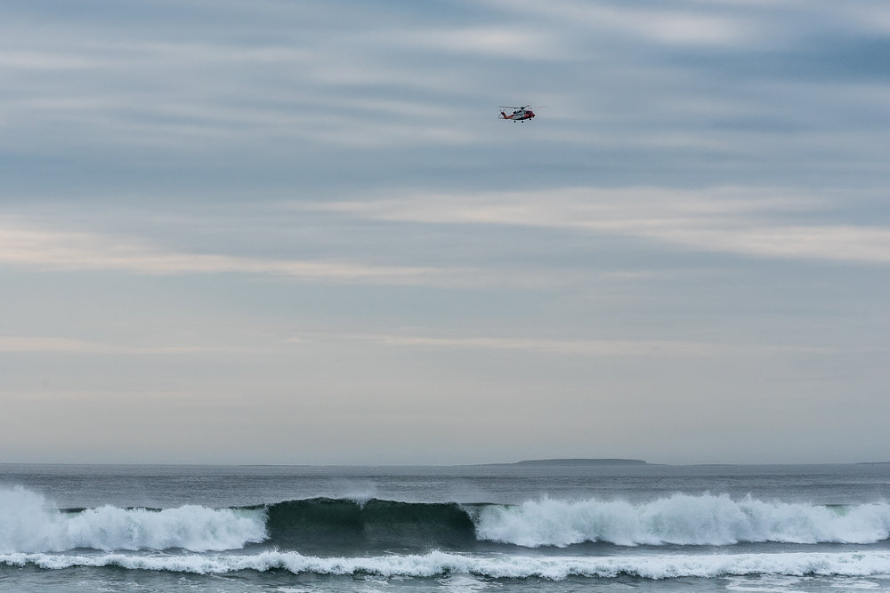 Sea Rescue, Strandhill Bay, Sligo