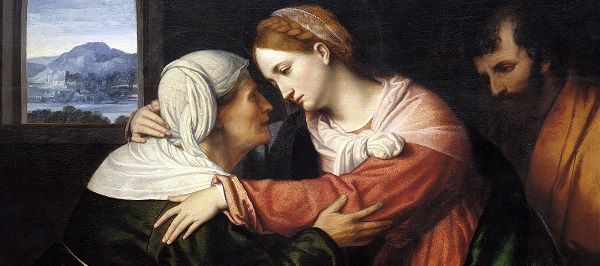 Visitation by Moretto da Brescia