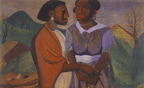Visitation by Romare Bearden