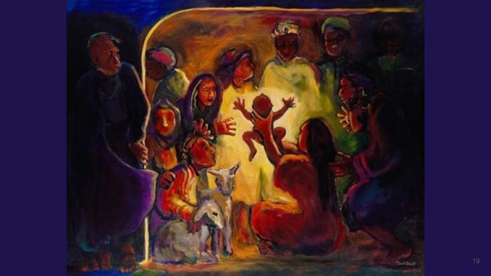Nativity by Carol Aust