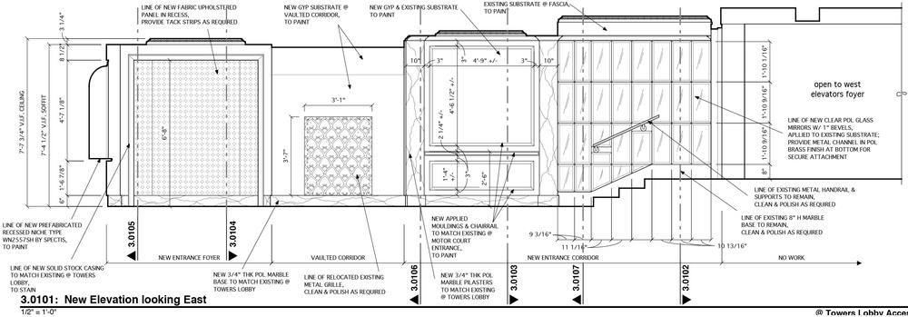 design plans (courtesy of Kenneth E. Hurd & Associates)