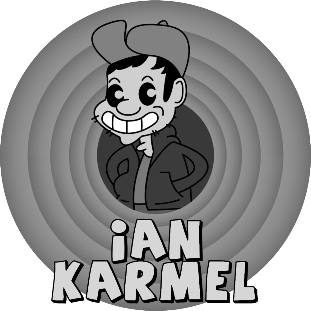 Ian Karmel is an Emmy nominated LA-based stand-up comedian, actor, and writer. Originally from Portland, Oregon, he is currently co-head writer for the Emmy award winning The Late Late Show with James Cordon, of which Ian was one of the founding writers in the show's 2015 re-creation.  Ian's weekly podcast All Fantasy Everything, from Headgum studios, is in its second year of production. Featured on many best of lists, it's a lighthearted show where funny people and experts come together to fantasy draft pop culture.