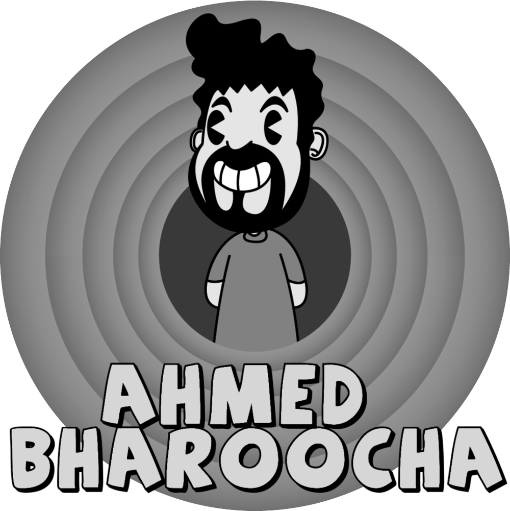 Conan and Comedy Central veteran Ahmed Bharoocha is half Irish Catholic, half Pakistani-Indian-Burmese-Muslim, and wholly a master of punctuating striking social commentary with high-energy theatrics. During high school his family relocated from Santa Barbara to Rhode Island, where Bharoocha made the leap from Stitches Comedy Club dishwasher to open micker. While attending the University of Rhode Island he frequented Boston's Comedy Studio, becoming a Comic in Residence in the process.