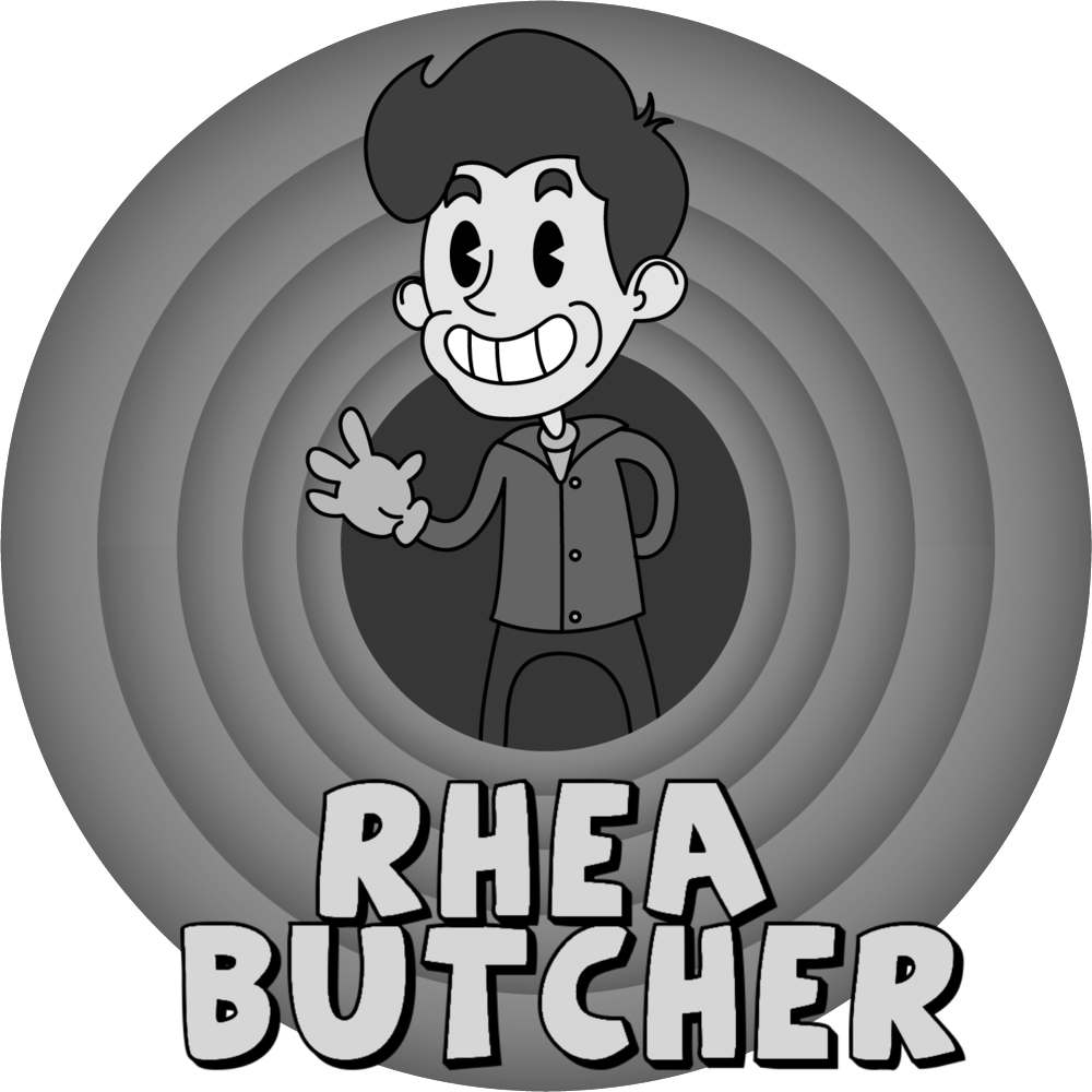 """Rhea Butcher is a Los Angeles-based standup comic, actor and writer. Originally from the Midwest, Rhea grew up skateboarding the mean streets of Akron, Ohio. Their blue collar brand of cool has endeared them to audiences nationwide, as they've performed standup and appeared on shows such as The Meltdown with Jonah and Kumail, @Midnight and Conan. Rhea's first television series, """"Take My Wife"""" premiered as a critical hit and was reviewed by Vanity Fair, The New York Times, Vulture, IndieWire and countless other outlets. Rhea was a recurring performer on the TruTv series """"Adam Ruins Everything,"""" and continues to tour the country, just recently on the Back To Back Tour with their wife, Cameron Esposito. Their debut standup album, """"Butcher"""", and recent release with Cameron Esposito, """"Back To Back: Live"""" both debuted at number one on iTunes. Rhea was also named one of Variety's Top Ten Comics To Watch 2017 at the Just For Laughs festival."""