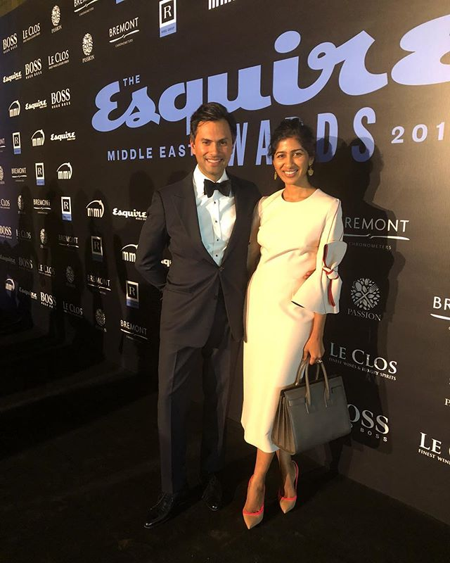 Beauty & the Beast at the Esquire Awards Night 2018 #esquireawards #esquireme @esquiremiddleeast